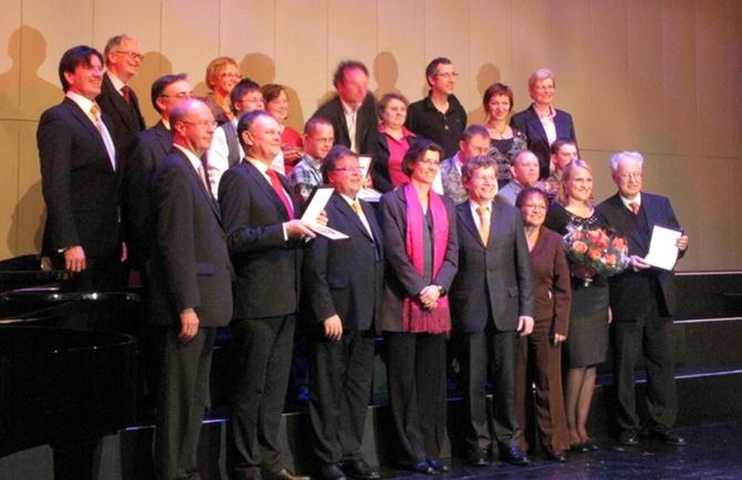 Kulturmedaille der Stadt Würzburg 2011 für den Würzburger Gästeführerverein